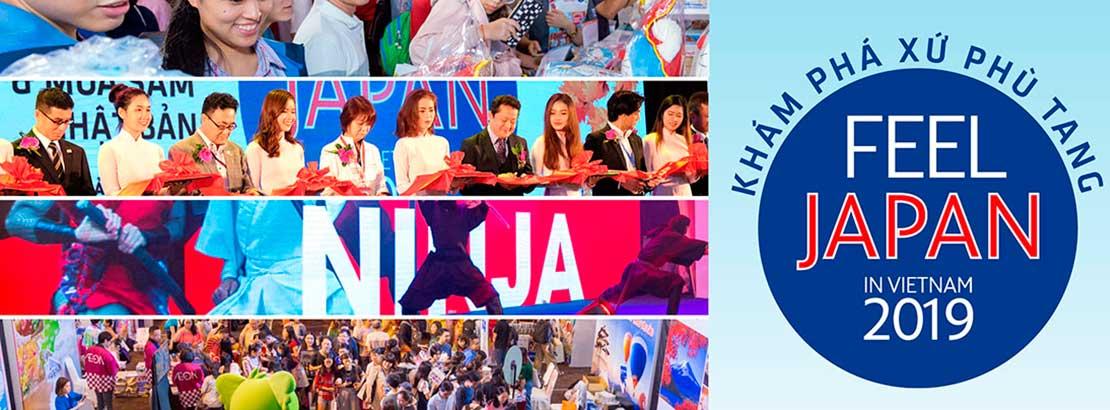 Khởi động bán gian hàng FEEL JAPAN 2019