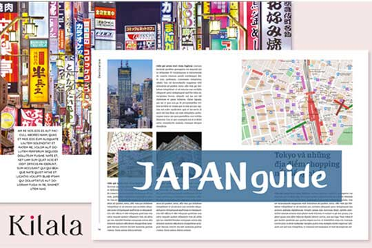 Issue Japan travel guidebook for Vietnamese tourist