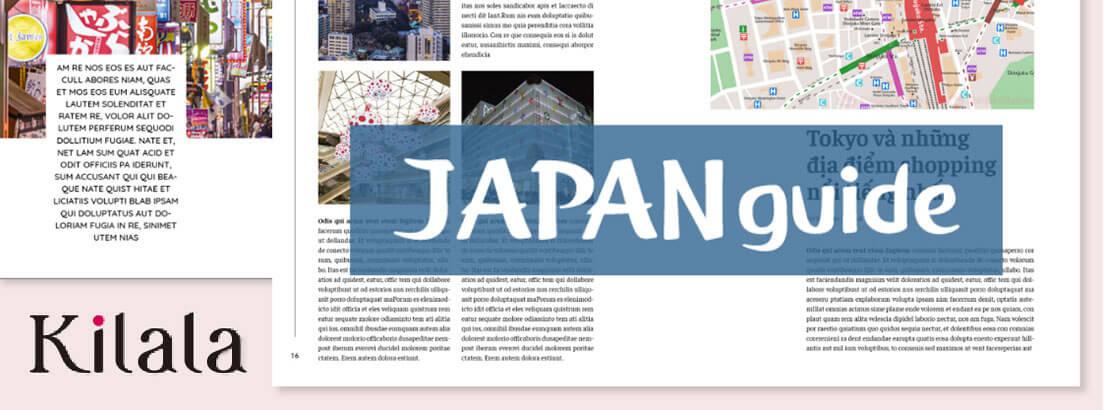 ベトナム人のための日本の旅行ガイドを発行します